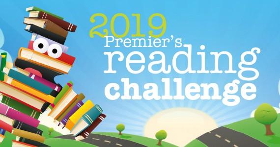 2019 Premier's reading challenge slider